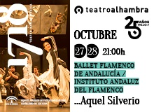 Ven al Teatro Alhambra al Ballet Flamenco de Andalucía