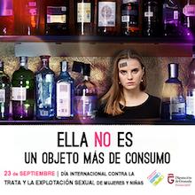 Campaña contra la Trata de la Diputación de Granada