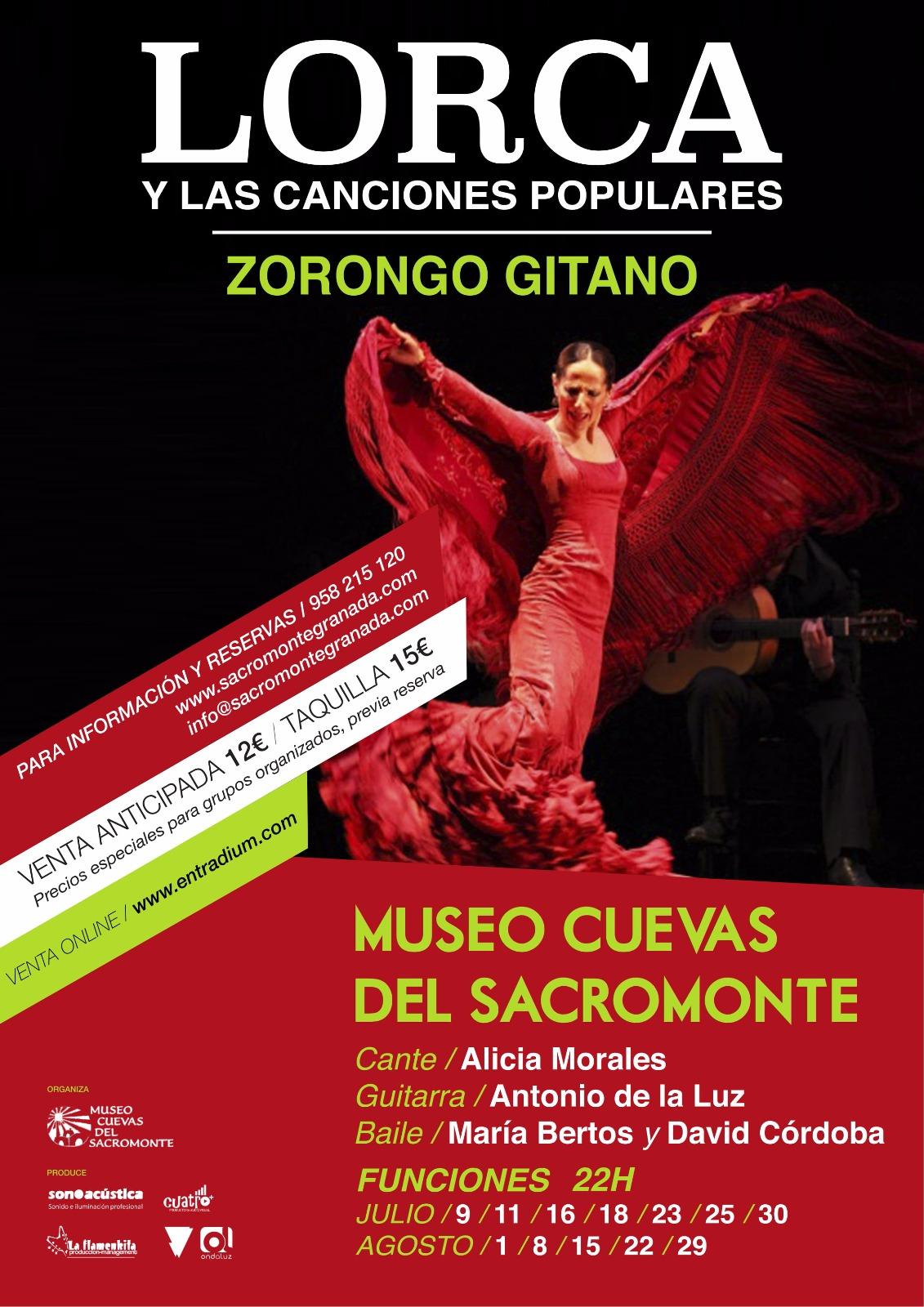 Ven y disfruta del flamenco en el Museo Cuevas del Sacromonte