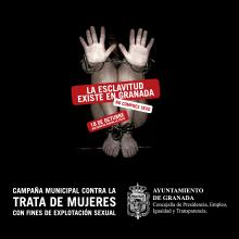 Campaña del Ayuntamiento de Granada contra la Exclavitud Sexual