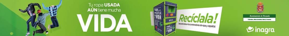 Campaña Inagra 'Reciclaje de ropa'