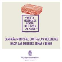 Contra la violencia machista, no te laves las manos