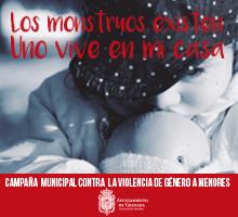 Campaña del Ayuntamiento de Granada contra la violencia machista.