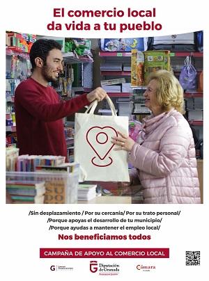 Campaña Diputación promoción del comercio local