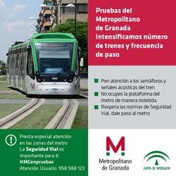 Campaña de seguridad vial: tu Metro ya está aquí
