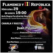 Carla y recital Flamenco y III República