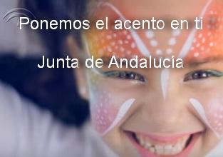 Ponemos el acento en ti. Junta de Andalucia