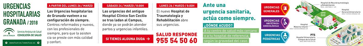 Infórmate de las nuevas urgencias hospitalarias