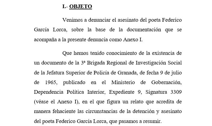 Argentina El País Que Amó A Lorca Investigará Su Asesinato