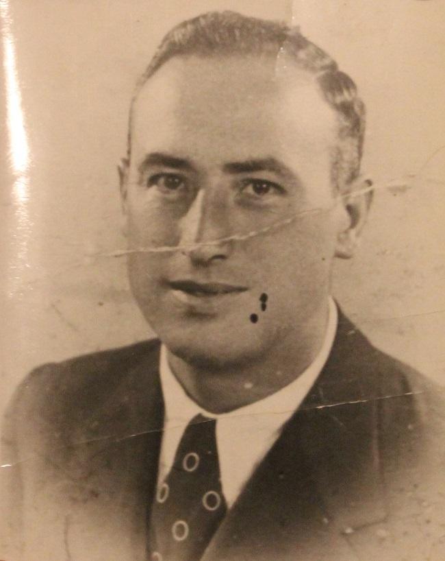Antonio Pretel Fernández, en una imagen de los años 30.