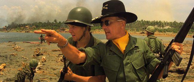 El coronel Bill Kilgore en una escena de 'Apocalypse Now'.