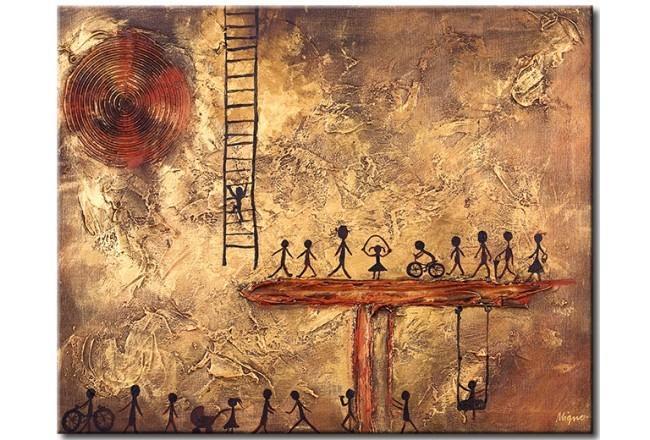 'La gente de color marrón' (2011) por Iza Lasota.