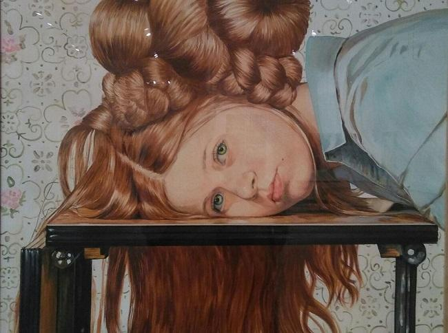 'Lucía y sus trenzas', de Ángela Angrela.