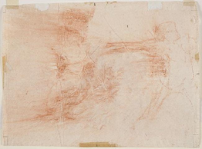 'Bárbaros!', (1810-1814) de la serie 'Desastres de la guerra [dibujo], 38', de Francisco de Goya.