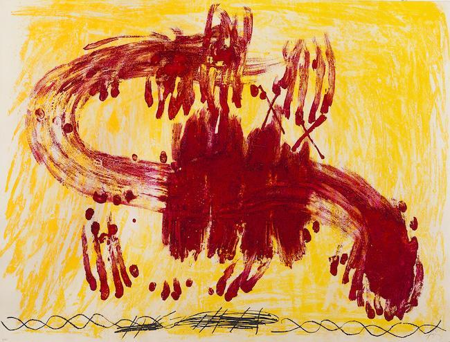 'Suite Catalana, Las Estampas de la Cometa' (1972), Antoni Tapies.