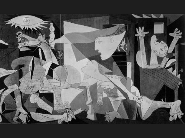 Guernica, de Picasso.
