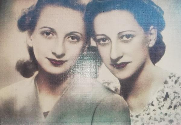 Las hermanas Mingorance Pérez.