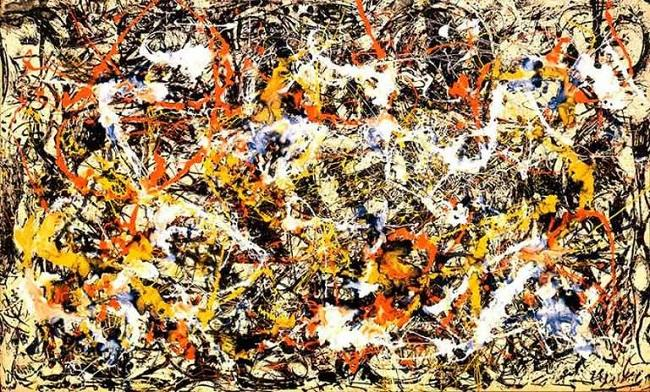 'Convergence' (1952), de Jackson Pollock .