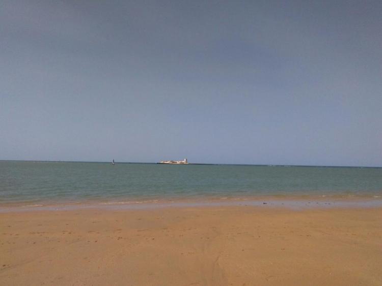 Playa de San Fernando, en Cádiz.