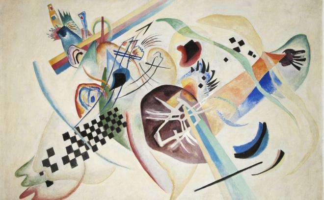 'On White', de Kandinsky (1920)