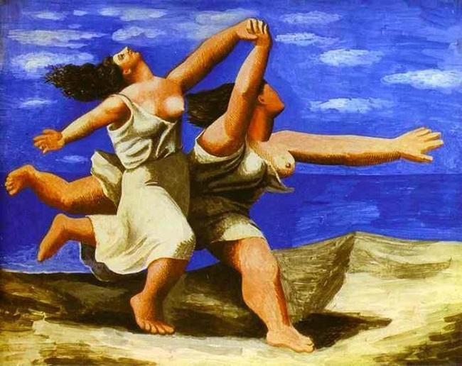 'Dos mujeres corriendo en la playa' (1922), Picasso.