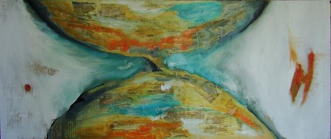 'Relo de arena I' (2009), de María Sauzet.