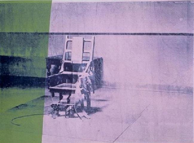 'Silla eléctrica', Andy Warhol, 1964.