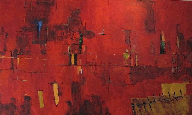 'Sinfonía de rojos', de Susana Monay.