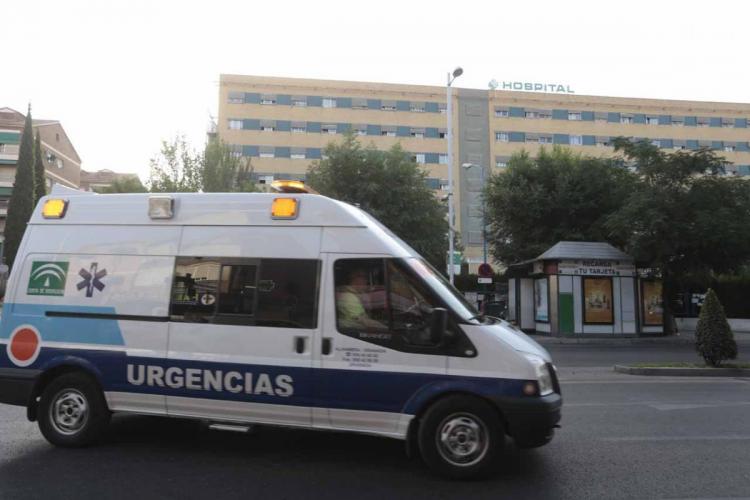 Imagen del traslado de pacientes de Trauma al nuevo hospital el pasado 2 de julio.