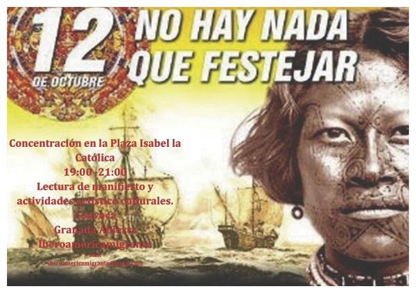 Cartel de las actividades organizadas por Granada Abierta.