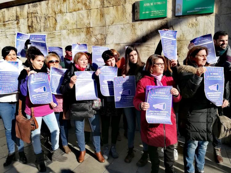 Representantes de las plataformas y colectivos feministas han dado a conocer este viernes la movilización.