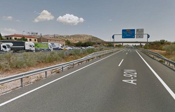 El accidente ocurrió en el km 73 de la autovía.