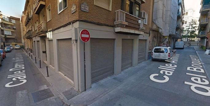 Calles Almona y Darro del Boquerón, dos de las que se van a reformar.