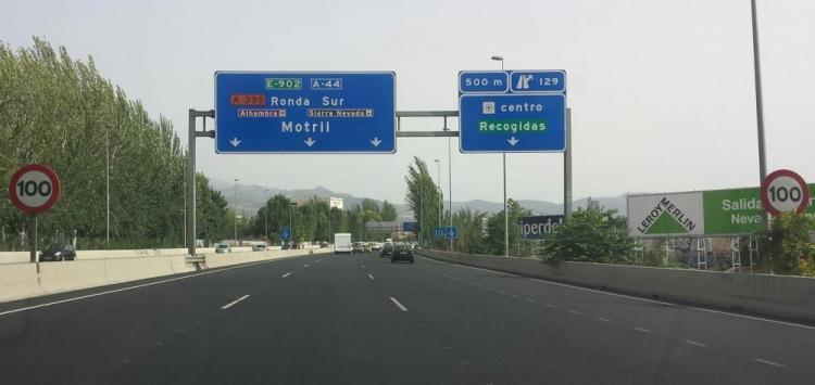 Ahora, el límite en la mayor parte del tramo urbano es de 100 kilómetros hora.