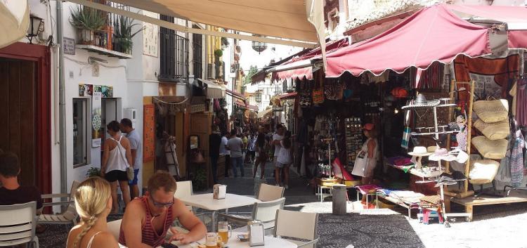 Imagen de archivo de la Calderería Nueva.