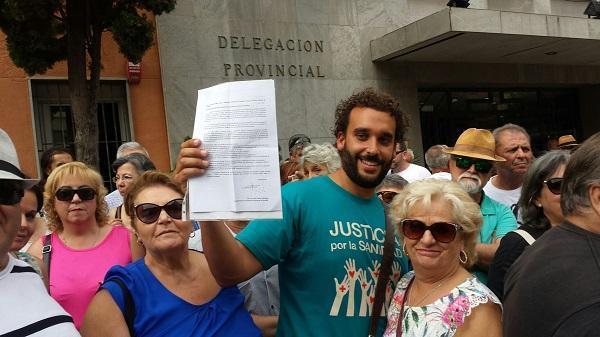 Jesús Candel, al anunciar en agosto que convocaría movilizaciones.