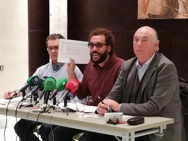 Jesús Candel en una rueda de prensa.