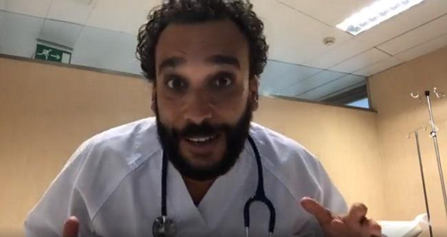Jesús Candel, en uno de sus vídeos.