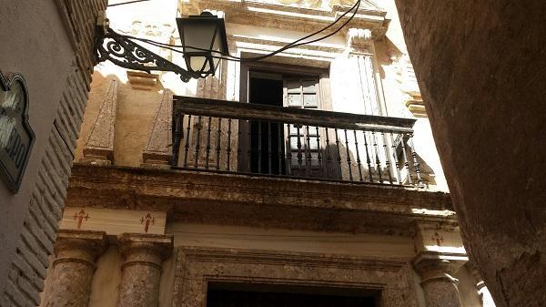 El balcón principal de la Casa Ágreda está abierto desde hace varias semanas.