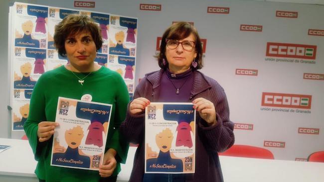 Clara Castarnado y Maria José López Garrido.