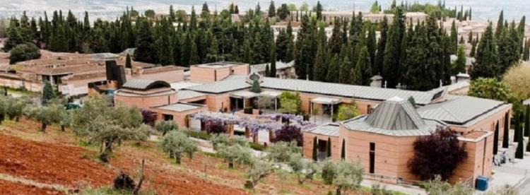 Vista general del cementerio de Granada.