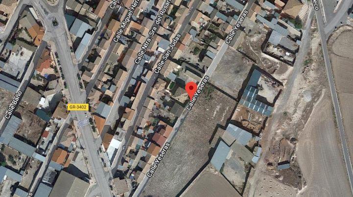 Localización de la calle Yeseras de Chimeneas.