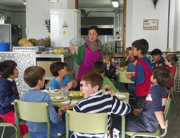 Comedor escolar del centro.
