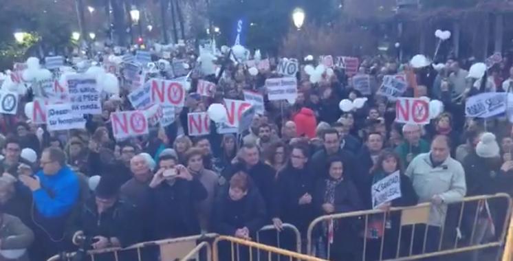 Imagen de la concentración celebrada en Jaén.