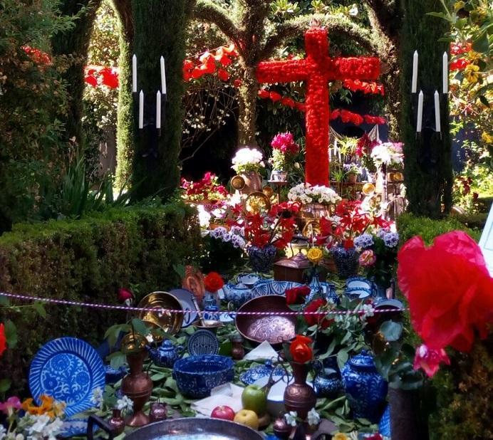 Cruz del Bajo Albaicín en el Carmen de la Victoria, hace dos años.