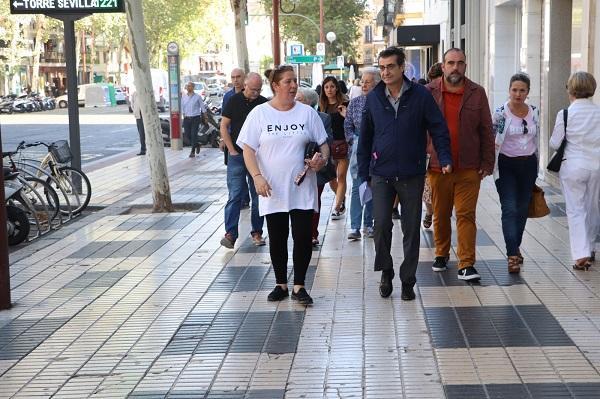 Antonio Cambril, en octubre pasado, cuando acudió al Defensor del Pueblo Andaluz.