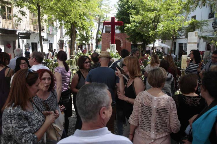 Imagen de archivo de la celebración de las Cruces.