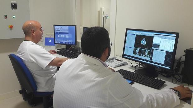 Personal de radioterapia de Traumatología.