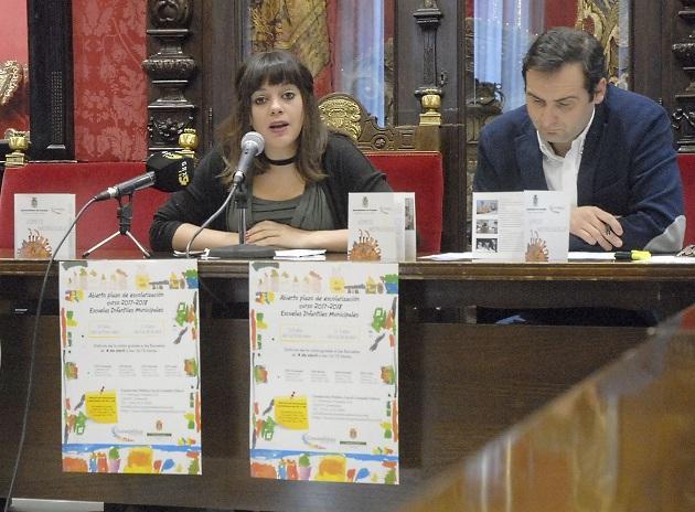 Presentación de las oferta de plazas de las Escuelas Infantiles.