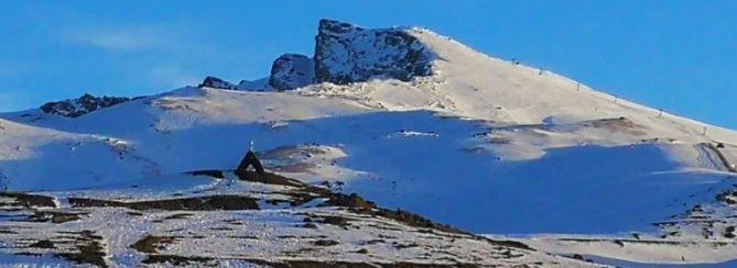 Veleta y Virgen de las Nieves, en una imagen del domingo pasado.